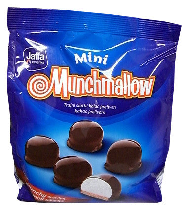 Jaffa Munchmallow MINI Classic, 120g bag - Parthenon Foods
