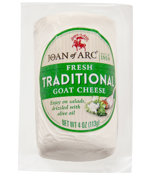 Goat Cheese, Fresh Traditional (Joan of Arc) 4 oz (113g) - Parthenon Foods