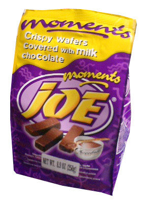 Joe Moments Wafers, Chocolate Covered, 180g - Parthenon Foods