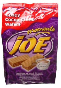Joe Moments Wafers, Cocoa Cream, 8.9oz(250g) - Parthenon Foods
