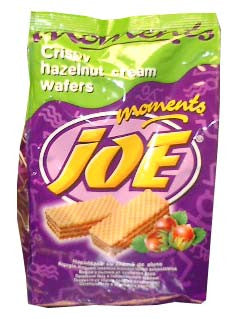 Joe Moments Wafers, Hazelnut Cream, 7.05 oz (200g) - Parthenon Foods