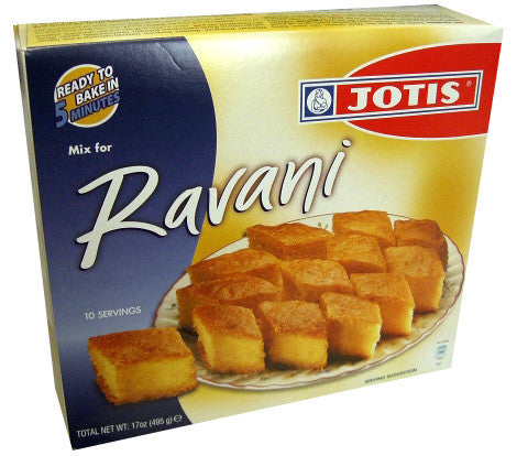 Ravani Mix, 10 Servings, 17 oz (495g) - Parthenon Foods