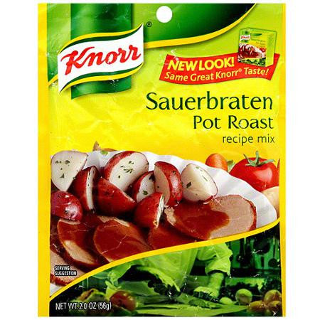 Knorr Pot Roast, Sauerbraten Mix, 2oz - Parthenon Foods