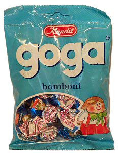 Filled Bonbons, GOGA, (kandit) 100g - Parthenon Foods