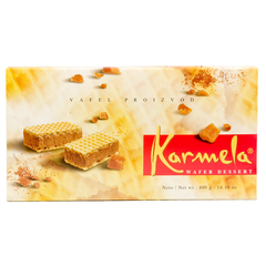 Karmela Wafers, 400g - Parthenon Foods