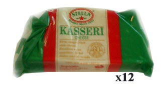 Kasseri Cheese (stella) CASE (12 x 8 oz) - Parthenon Foods