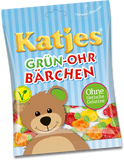 Green Eared Bear (Grün-Ohr Bärchen) Gummi (Katjes) 200g - Parthenon Foods