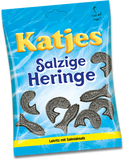 Salzige Heringe, Salted Black Licorice (Katjes) 200g - Parthenon Foods