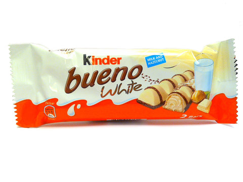 Kinder Bueno WHITE, 39g - Parthenon Foods