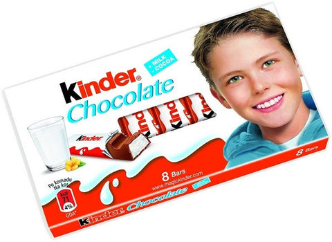 Kinder Chocolate, 100g - Parthenon Foods