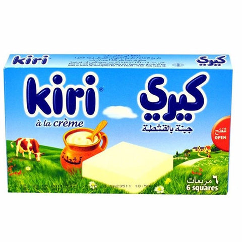 Kiri Cheese Wedges, 6 portions (108g) - Parthenon Foods