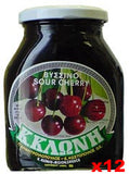 Sour Cherry Preserve (k.kloni) CASE (12 x 16oz) - Parthenon Foods