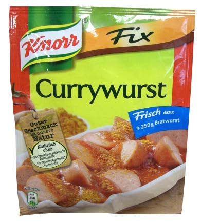 Knorr Fix for Currywurst, 36g - Parthenon Foods