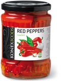 Roasted Red Peppers (KONEX) 19 oz - Parthenon Foods
