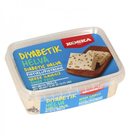 Halva Pistachio, Sugar Free, for Diabetics (Koska) 350g - Parthenon Foods