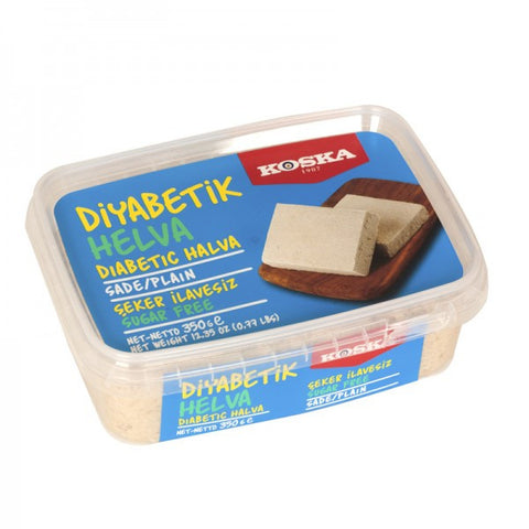 Halva Plain, Sugar Free, for Diabetics (Koska) 350g - Parthenon Foods