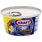 Kraft Cheddar Cheese Tin, 3.74 oz (106g) - Parthenon Foods