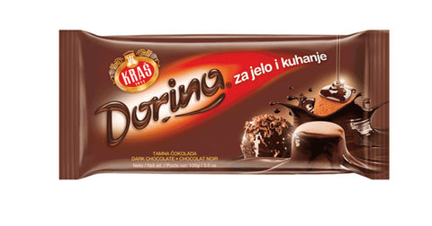 Cooking Chocolate, Dark, 100g - Parthenon Foods