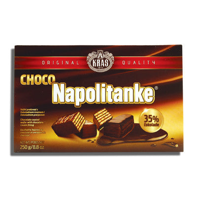 Napolitanke Chocolate Coated, 250g - Parthenon Foods