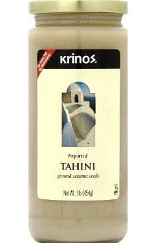 Tahini, Ground Sesame Seeds (krinos) 1lb - Parthenon Foods