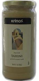 Tahini, Ground Sesame Seeds (krinos) 2lb - Parthenon Foods