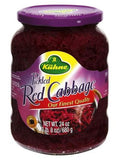 Pickled Red Cabbage (Kuhne) 24 oz - Parthenon Foods