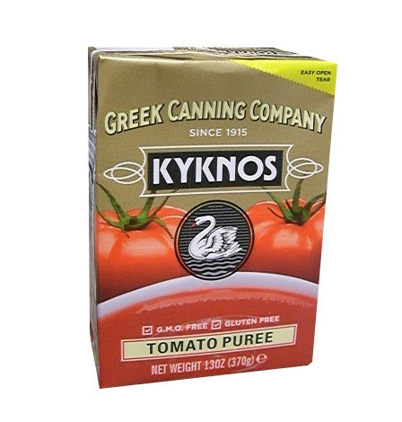 Tomato Puree (Kyknos) 13 oz (370g) - Parthenon Foods