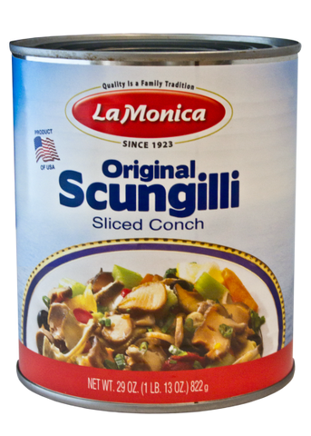 Scungilli - Sliced Conch - 822g (29 oz) - Parthenon Foods