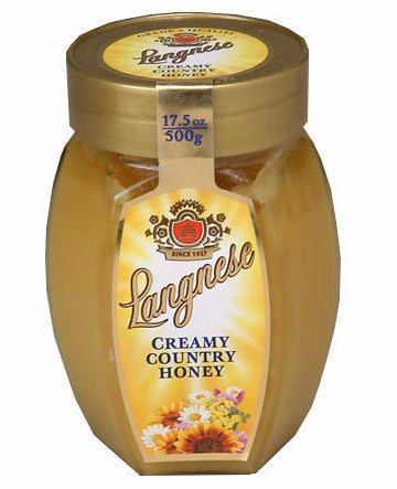 Creamy Country Honey (Langnese) 17.5oz (500g) - Parthenon Foods