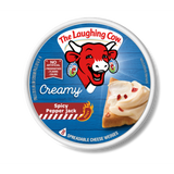 Laughing Cow Creamy Spicy Pepper Jack Wedges 8 pieces, 6 oz - Parthenon Foods