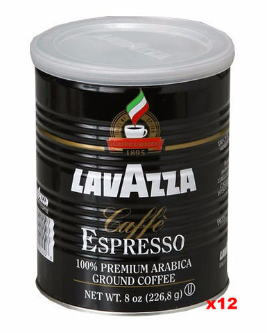 Espresso, Caffe Especiale Ground (Lavazza), CASE 12x8oz - Parthenon Foods