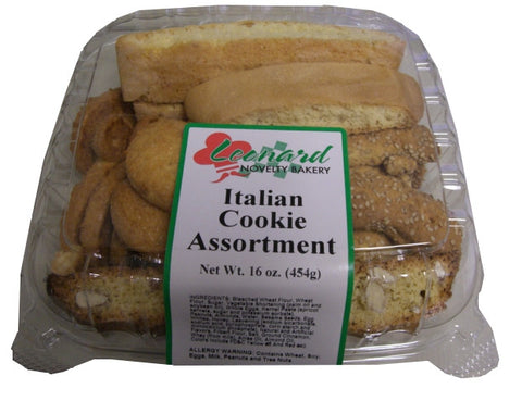 Italian Cookie Assortment (Leonard Bakery) 16 oz (454g) - Parthenon Foods
