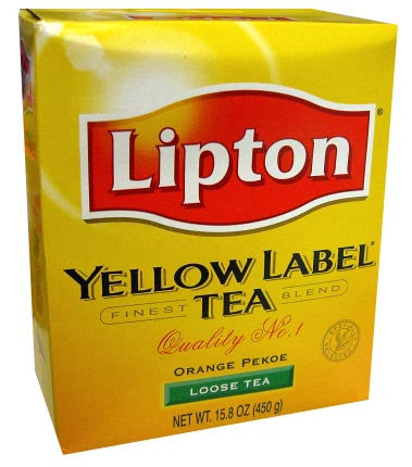 Lipton Yellow Label Tea, Loose, 15.8 oz (450g) - Parthenon Foods
