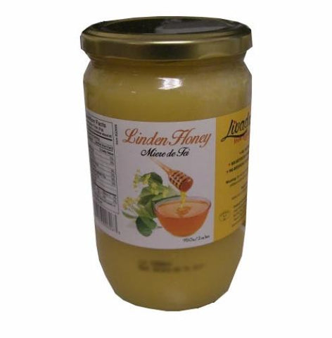 Linden Honey (Livada) 950g (2lb.1oz) - Parthenon Foods
