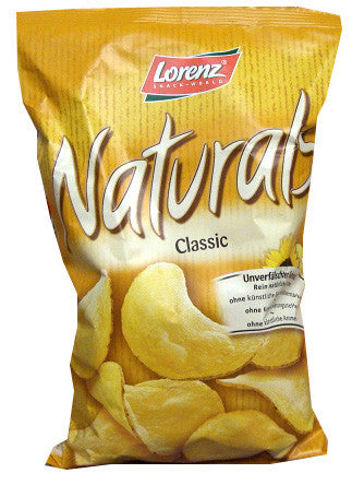 Naturals Classic Chips (Lorenz) 100g - Parthenon Foods