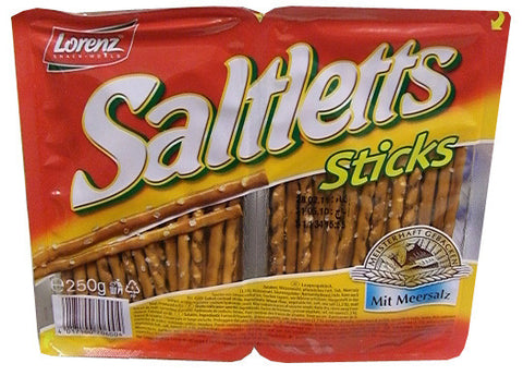Saltletts Sticks (Lorenz) 250g (8.8 oz) - Parthenon Foods