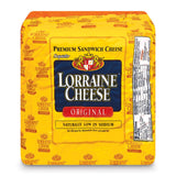 Lorraine Cheese, Original, approx. 6.7 lb - Parthenon Foods