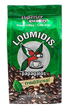 Greek Ground Coffee (Loumidis) 6.8 oz (194g) - Parthenon Foods