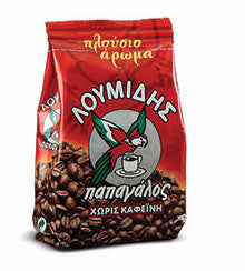 Greek Ground Decaffeinated Coffee (loumidis) 96g - Parthenon Foods