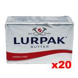 Lurpak Danish Unsalted Butter (CASE) (20 x 8 oz) - Parthenon Foods
