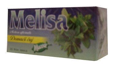 Lemon Balm Tea - Melisa Tea (macval)  20g - Parthenon Foods