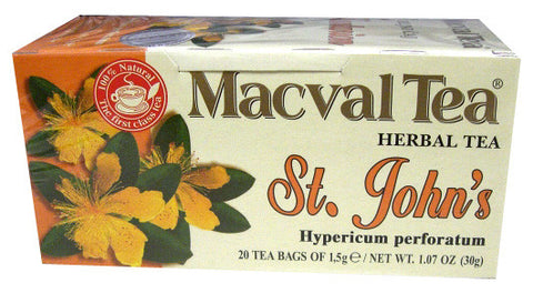 Macval St. Johns (Kantarion) Tea 30g - Parthenon Foods