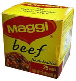 Maggi Beef Boullion Cubes, 2.8 oz (80g) - Parthenon Foods