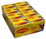 Maggi Beef Stock, HALAL, CASE 20g(2 cubes)x24pk - Parthenon Foods