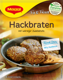 Hackbraten Fix and Frisch (Maggi) 88g - Parthenon Foods