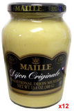 Dijon Mustard (Maille) CASE (12 x 13.4oz (380g))  Label may read HOT - Parthenon Foods