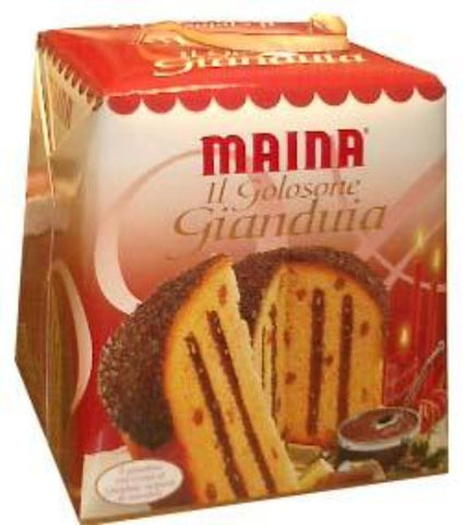 Panettone Gianduia Filled (Maina) 750g - Parthenon Foods