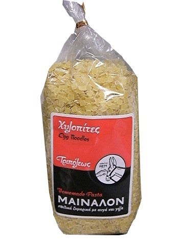 Hilopites, Traditional Greek Egg Noodles (Mainalon) 500g - Parthenon Foods