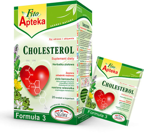 Cholesterol Food Supplement Herbal Tea (Malwa) 40g - Parthenon Foods
