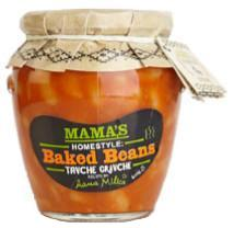 Mama's Home Style Baked Beans 20 oz - Parthenon Foods